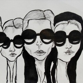 Original Art Work - Fashion Girls